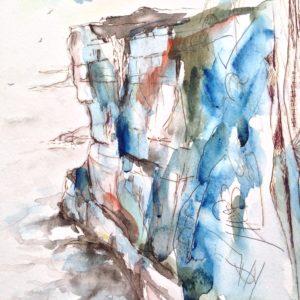 Cliffs at Inis Mór