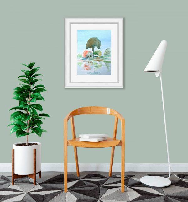 Copse of trees-room