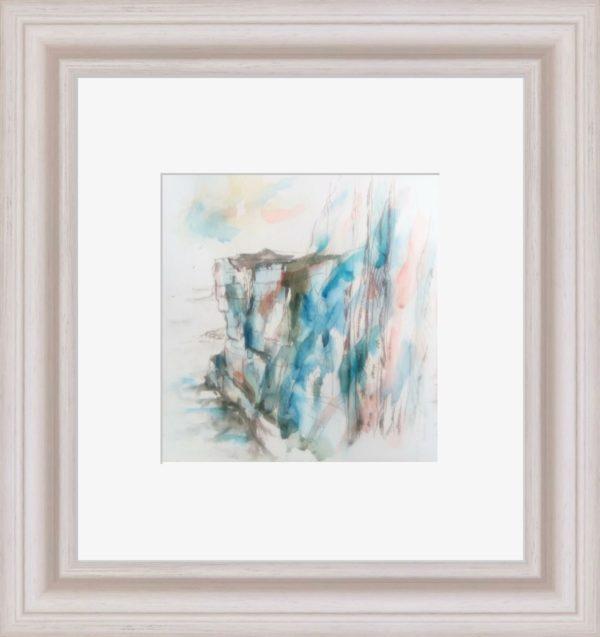 Cliffs at Inis Mór - framed
