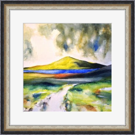 Path to the sea, Inishowen-framed